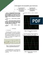 Informe Control del angulo de encendido para tiristores