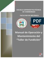 Manual del Taller de Fundición