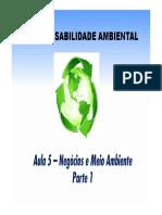 Aula 05 - RAMBSOC - Negócios e Meio Ambiente - P1 - MB [Modo de Compatibilidade]