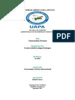 Gastronomia peruana Tarea en fisico
