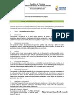 ANEXO 3. Modelo elaboración Informe Pericial en Psicología