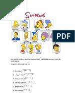 camila Oliva Simpsons Family Quiz
