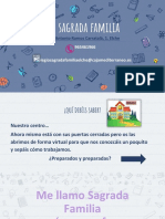 Colegio Sagrada Familia de Elche. Jornada Puertas Abiertas 2020. Fundación Caja Mediterráneo