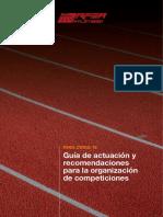 Guia RFEA Carreras Populares y Atletismo Tras El COVID19. 27MAY20