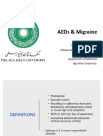 AEDs And Migrane Drugs