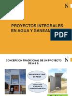 1 Proyectos integrales en agua y saneamiento