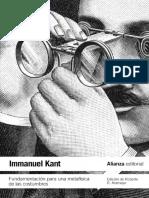 Immanuel Kant - Fundamentación para una metafísica