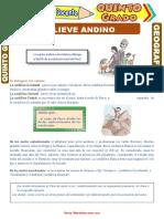 Relieve-Andino-para-Quinto-Grado-de-Primaria