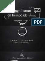 HUMOR EN TIEMPOS DE PANDEMIA