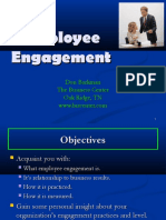 Employee Engagement Ppt on Gallup Model and Maslow - Intractive
