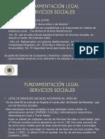 FUNDAMENTACIÓN LEGAL servicios sociales