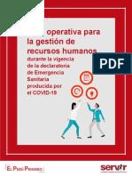 SERVIR - Gui¦üa ORH-2020 FORMATOS DE DECLARACIONES JURADAS
