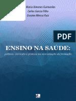 Ensino na saúde política, currículo e práticas na reorientação da formação_EbookUECE