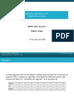 19 Mayo 2020-Estadística