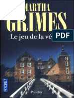Le jeu de la verite - Martha Grimes.epub