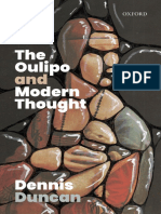 Dennis Duncan - The Oulipo and Modern Thought-Oxford University Press, USA (2019).pdf