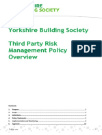 YBS Third Party Risk Management Policy Overview (1)