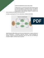 Modelos de Procesos Administrativos según varios autores