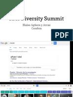 RMI Diversity Summit - Blaise 15m version (yes really)