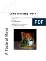 Autodesk Maya Tutorial - Dancing Comic Book