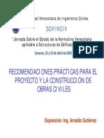 I-Anexo para Actividad 3-Arnaldo Gutierrez Recomendaciones Proyectistas