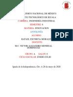 Antologia, Rafael Escorcia Morales, Innovacion 6-A