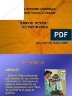 Nervio Optico patologia Dra. GAbriela Quiles