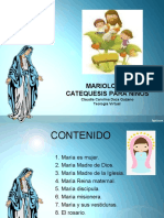 Mariologia Catequesis