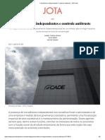 Conselheiros independentes e controle antitruste - JOTA Info (30.07.2019).pdf