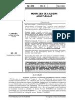 N-1823 - MONTAGEM DE CALDEIRA AQUOTUBULAR