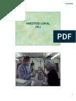 anestesi lokal