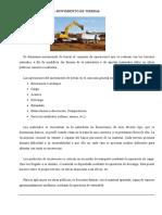 TRABAJO DE MOVIMIENTO DE TIERRAS
