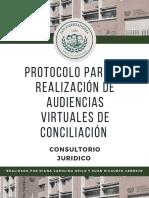 CARTILLA CONCILIACIÓN CAROLINA AVILA Y SUAN RICAURTE