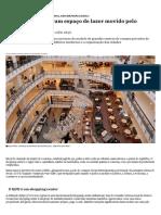 Shopping center_ um espaço de lazer movido pelo consumo - Nexo Jornal