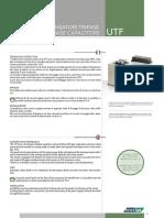 Enerlux condesadores de baja tensión UTF 2013
