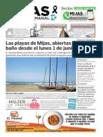 Mijas Semanal nº893 Del 29 de mayo al 4 de junio de 2020