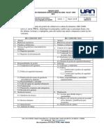TALLER 3 ORDENADOR GRÁFICO SOBRE ISO 22000 - HACCP - BPM - BPA