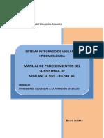 Manual de Procedimientos SIVE-Hospital Mo_dulo I