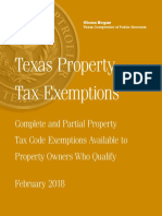 Texas Property Tax Exemptions