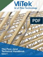 Posi Joist - Technical Handbook (Issue 7)