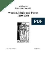 Women, Magic and Power
