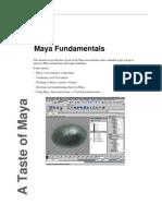 Autodesk Maya Tutorial - Maya Fundamentals