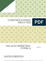CONSTRUCCIONES SIGLO XIX