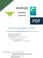 Android CEC Plantillas