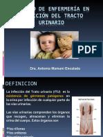 Cuidado de Enfermería en ITU Ped