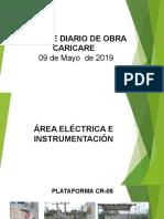 Informe de Mayo 09 Eléctrico Instrumentación_