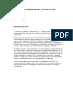 CONSTITUCION DE UNA EMPRESA Topográfica EIRL