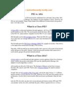 PIX vs  ASA