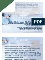 M. Rowane - Core Concepts in Osteopathic Manipulative Medicine