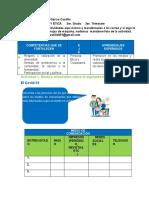 Actividades Formaciòn c. y e 3ero. 2020 Profra. Juanita